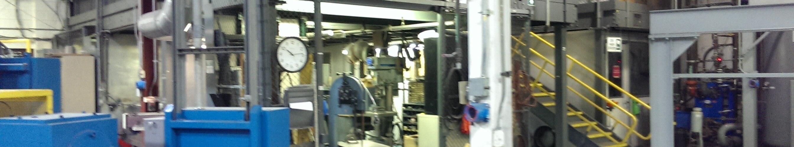 phot of machinery for metal alloys at Eutectix